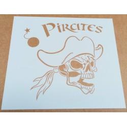 Pochoir Pirate