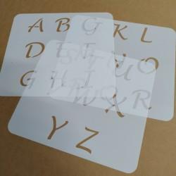 Pochoir Alphabet 3cm -...