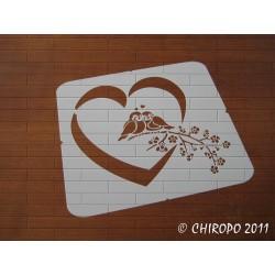Pochoir Coeur 3 (06560)