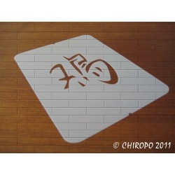 Pochoir astrologie chinoise - Signe du Coq (02511)