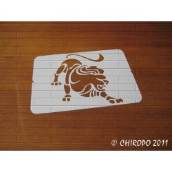 Pochoir zodiaque - Signe Lion (02991)