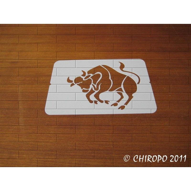 Pochoir zodiaque - Signe Taureau (02901)