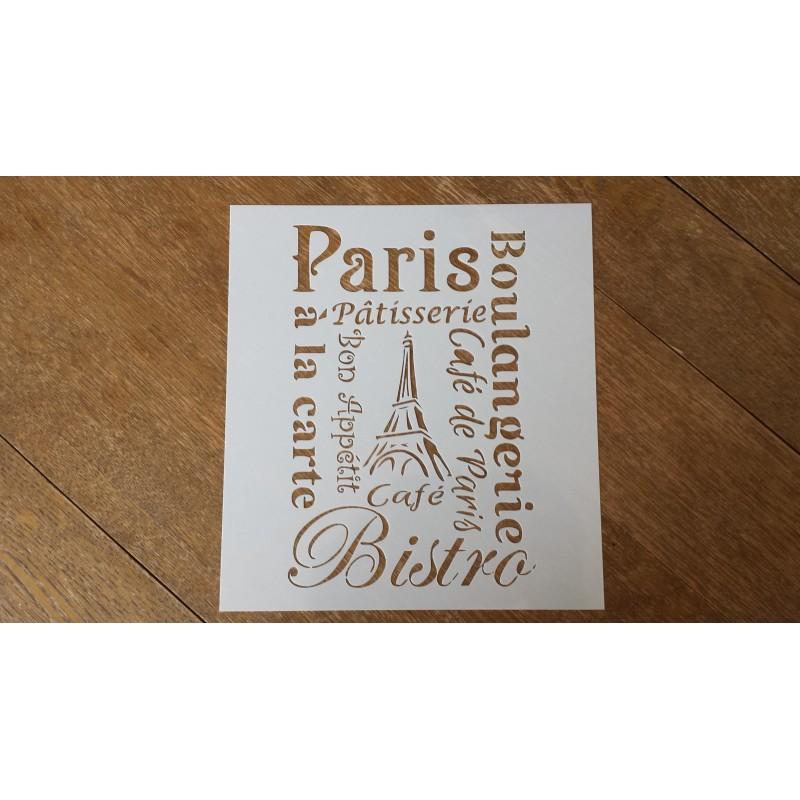 Pochoir - Gastronomie parisienne (00058)