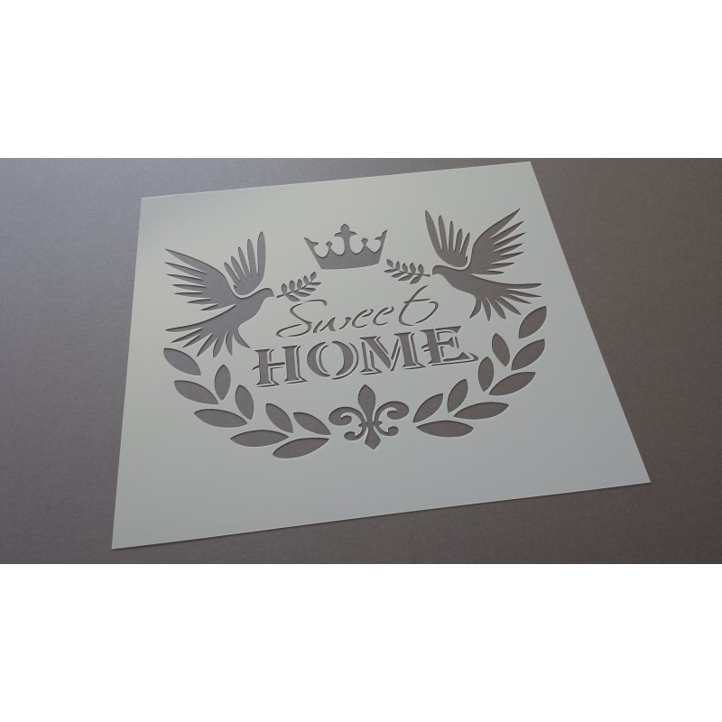 Pochoir Sweet Home 1 (00084)