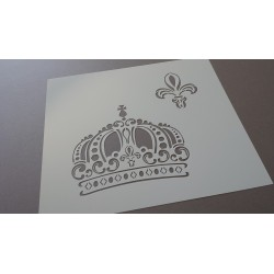 Pochoir Couronne royale (00108)