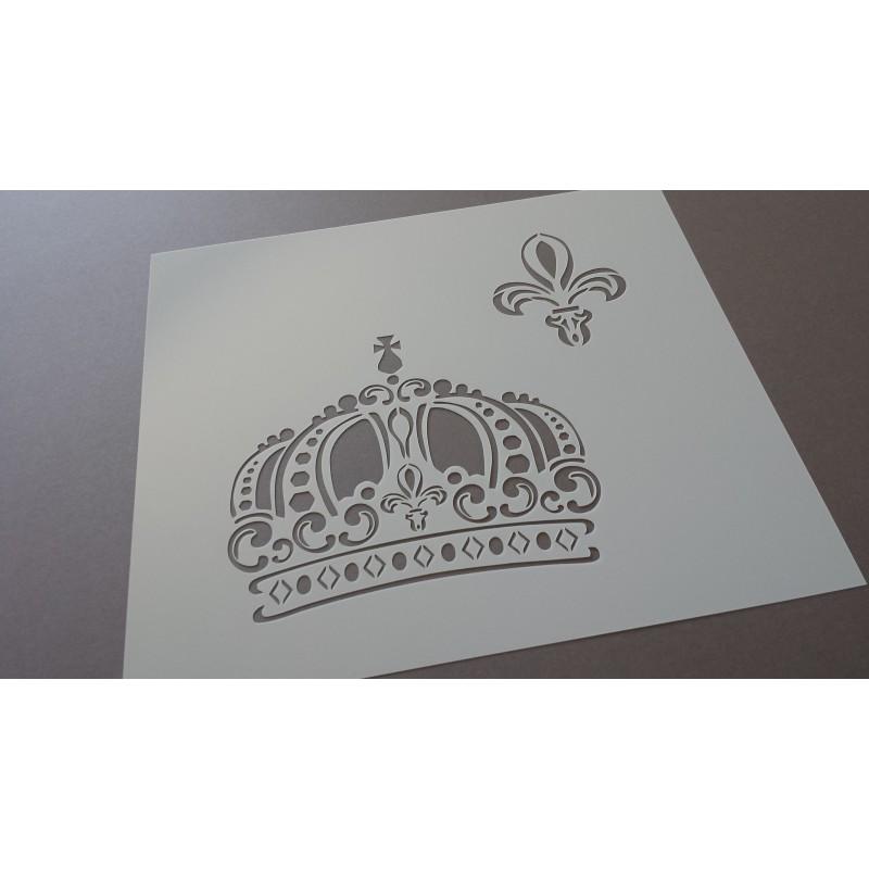 Pochoir Couronne royale (00108)