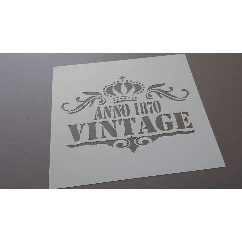 Pochoir Vintage 1870 (00087)