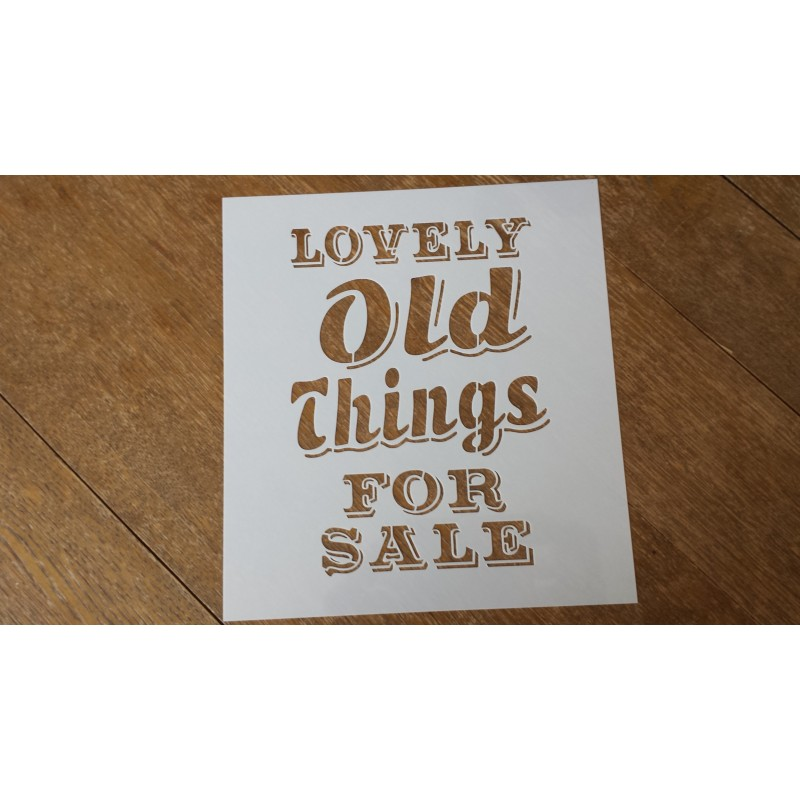 Pochoir - Lovely Old Things (00053)