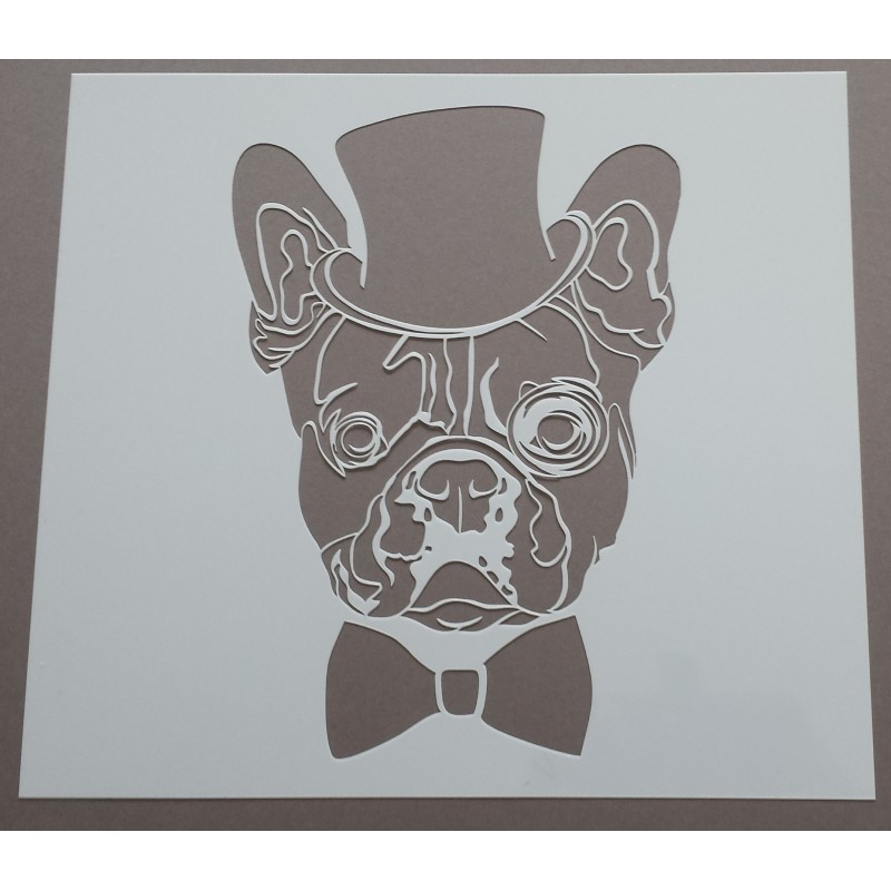 Pochoir Bouledogue (00064)