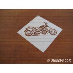 Scrapbooking Mask Pochoir - Harley Davidson 1 (07389)