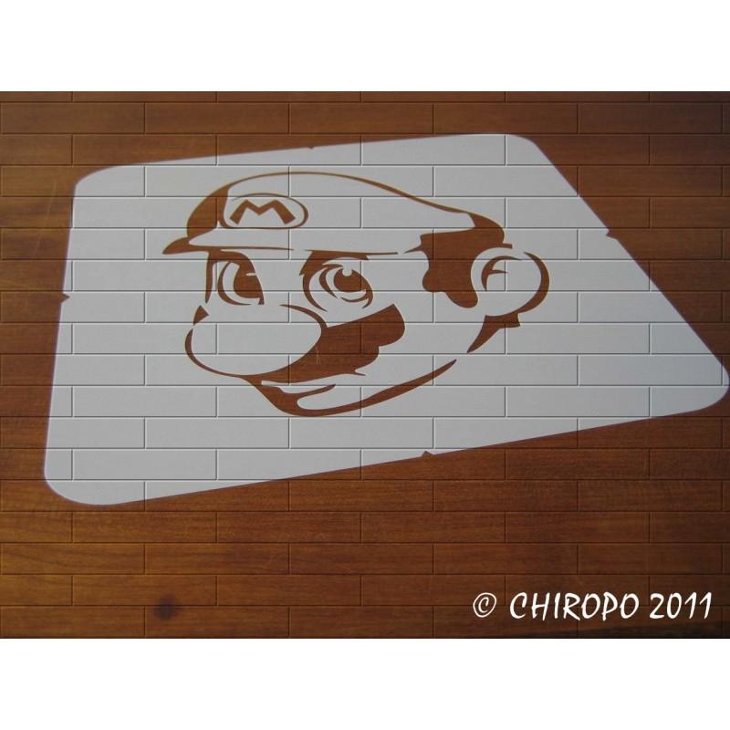 Pochoir Manga - Mario (06010)