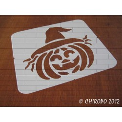 Pochoir Halloween - Citrouille (07950)