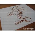 Pochoir Pokemon - Sonic (06090)