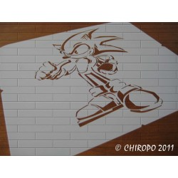 Pochoir Pokemon - Sonic (06090)