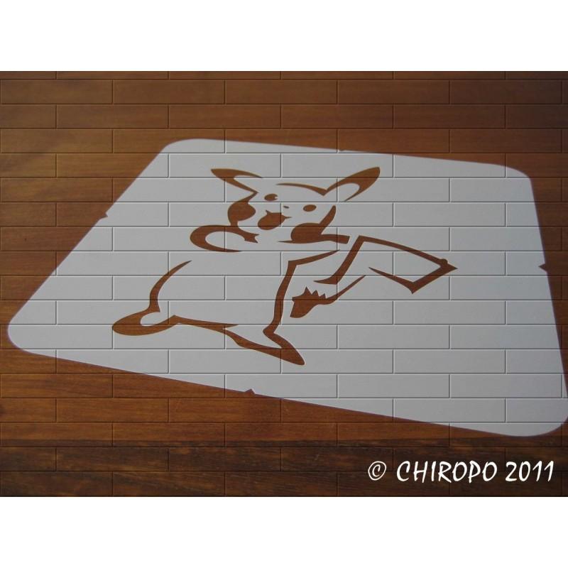 Pochoir Pokemon - Pikachu 2 (06060)