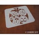 Pochoir Halloween - Citrouille des citrouilles (07930)
