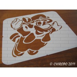 Pochoir Manga - Super Mario (05990)