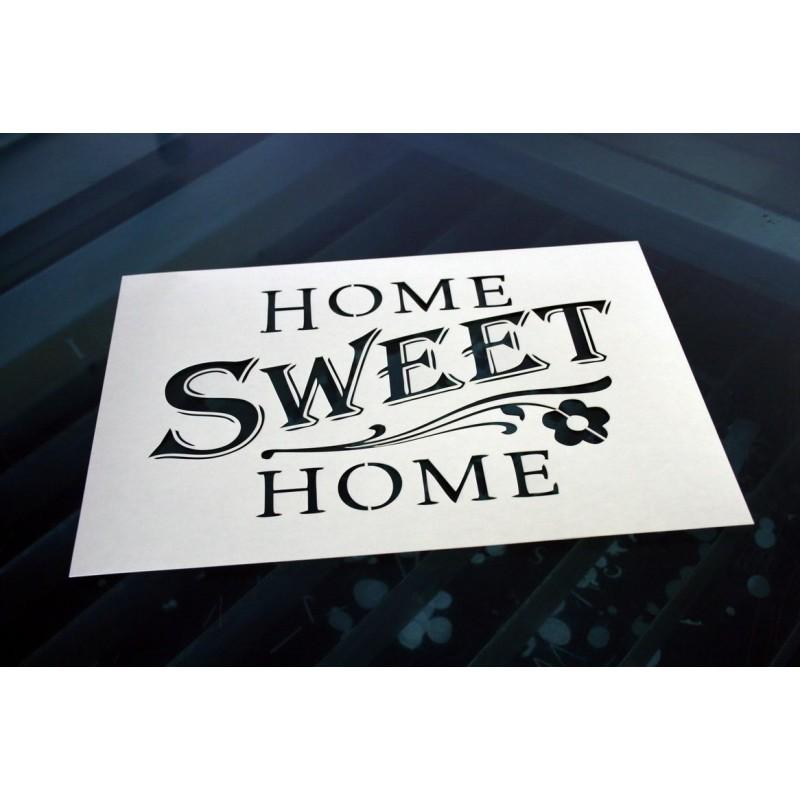 Pochoir - Home Sweet Home (00130)