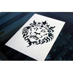 Pochoir - Roi Lion (00126)