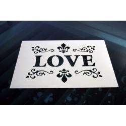 Pochoir - Love vintage (00125)