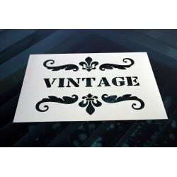 Pochoir - Vintage (00124)