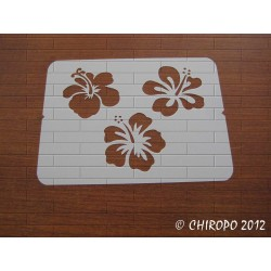 Pochoir Fleurs d'hibiscus (06771)