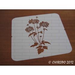 Pochoir Fleurs (07060)
