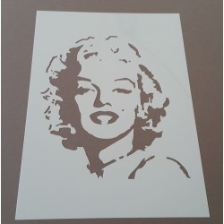 Pochoir Marylin Monroe (00184)