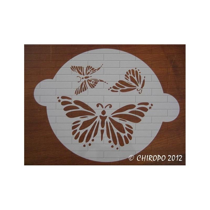 Pochoir à gâteaux - Papillons (07699)