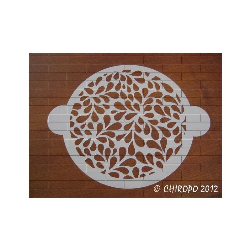 Pochoir à gâteaux - Pétales de Fleurs (07709)