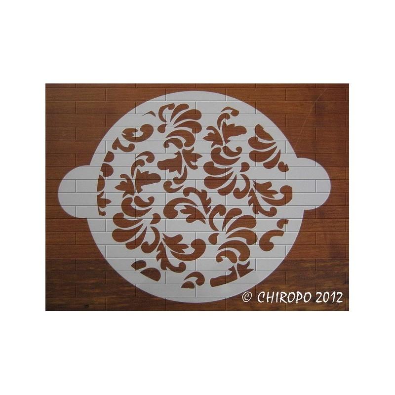 Pochoir à gâteaux - Baroque (07669)